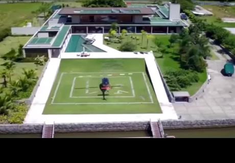 La lujosa mansión donde Neymar estará durante su recuperación