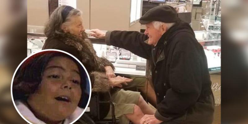 Abuelito le propone otra vez matrimonio a su esposa después de 63 años
