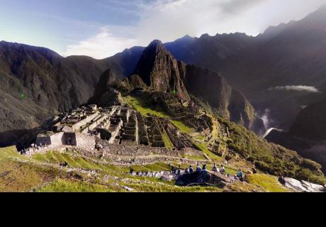 Google Maps: apocalíptico detalle en cielo de Machu Picchu impacta en redes