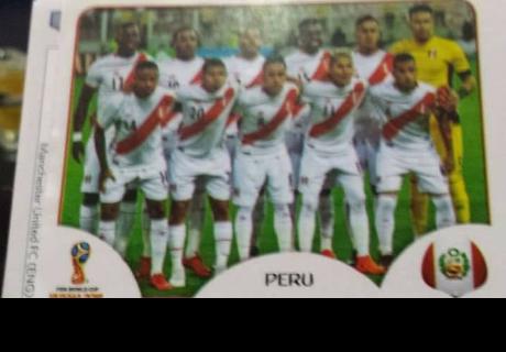 Filtran fotos de figuritas de Perú y Paolo Guerrero de álbum Panini