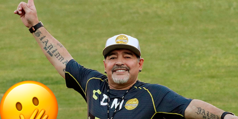 Diego Maradona anuncia que va a reconocer a sus tres hijos cubanos