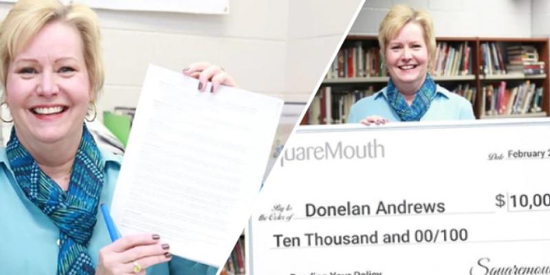 Mujer ganó 10 000 dólares por leer las letras pequeñas de su póliza de seguro