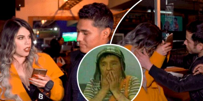 Joven se entera que su pareja le era infiel y terminó agrediendo a Chica Badabun