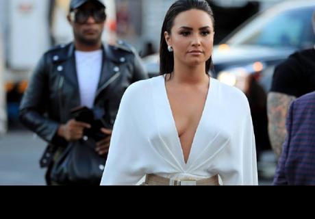Demi Lovato es captada almorzando junto a su ex Wilmer Valderrama