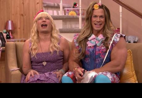 John Cena y Jimmy Fallon protagonizan el regreso de 'Ew!'
