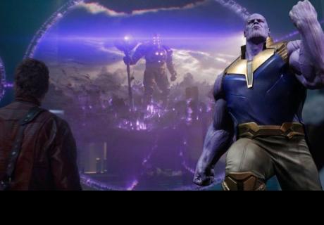 Un Celestial destruyó el planeta de Thanos en Guardianes de la Galaxia y lo volvió loco