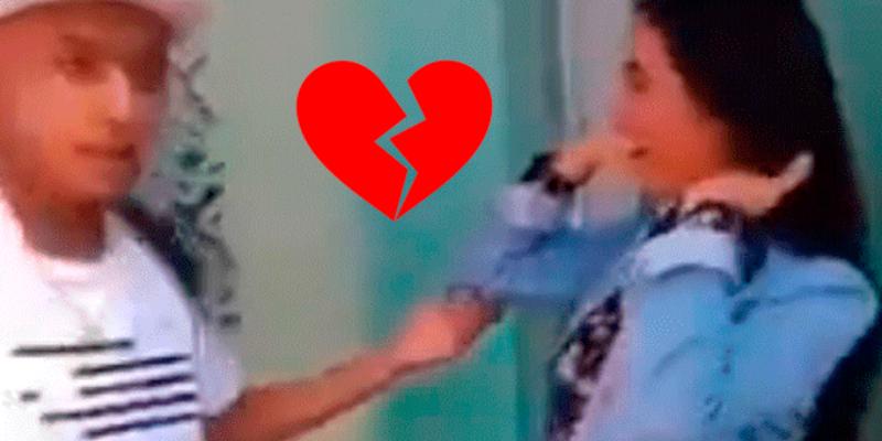 Joven infiel da 'curiosa' excusa a su novia cuando es descubierto con amante