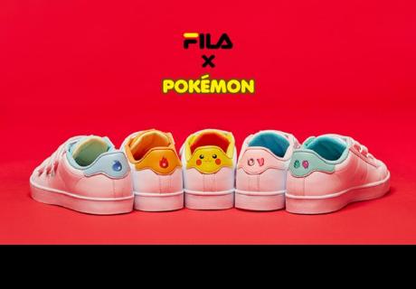 Lanzan colección de zapatillas edición Pokémon
