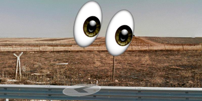 Google Maps descubre misterioso mensaje en la frontera entre Turquía y Siria