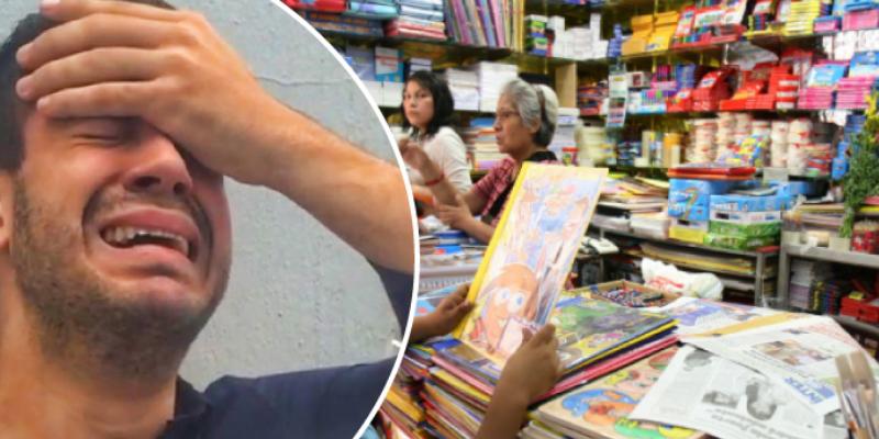 Hombre le compró útiles escolares a los hijos de su novia, pero ella regresó con su esposo