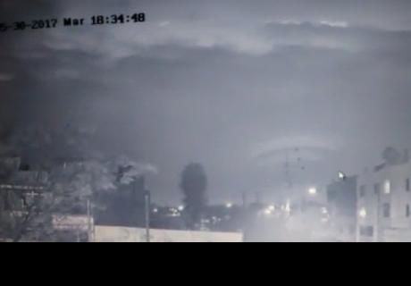 Video: Captan extraña imagen en el cielo de Trujillo