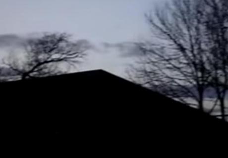 ¿Registró una extraña figura en el cielo y ocurrió aterrador desenlace?