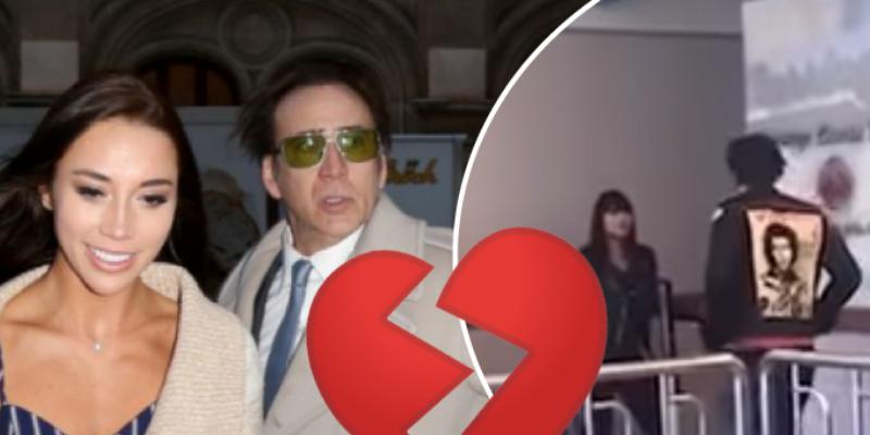 Nicolas Cage pide divorcio cuatro días después de su boda