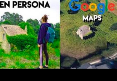 Google Maps: pareja encuentra una casa extraña, la visitaron y quedaron sorprendidos