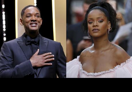 ¿Will Smith o Rihanna? Esta foto revienta las redes