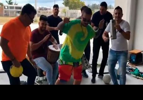 J Balvin alborota la red al bailar pegajoso tema 'Scooby Doo Papa'