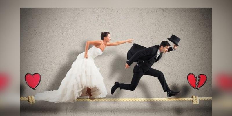Tener suficiente dinero, es una de las razones, por la que los hombres huyen del matrimonio
