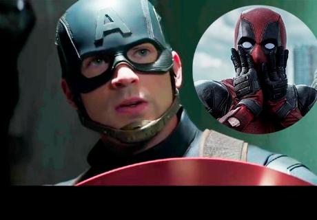 Avengers: Infinity War: Deadpool se burla de este detalle del Capitán América