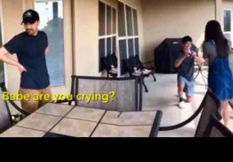 La reacción de un papá cuando le piden matrimonio a su hija se vuelve viral