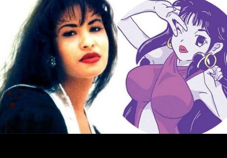 Selena Quintanilla se convierte en personaje de anime y genera todo tipo de reacciones