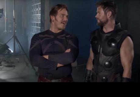 'Avengers: Infinity War' muestra nuevo avance detrás de cámaras