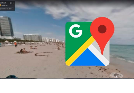 Google Maps: Recorre playa de Estados Unidos y capta a conocido personaje
