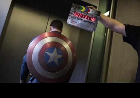 Chris Evans muestra su duro entrenamiento para 'Capitán América y el Soldado del Invierno'