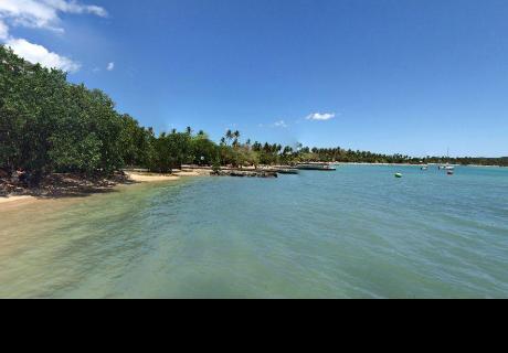 Google Maps: buscó paradisíaca playa en Puerto Rico y halló a dos chicas haciendo lo impensado
