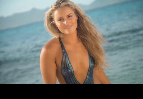 La esquiadora más sexy del mundo publicó la foto más espantosa. Instagram se asustó