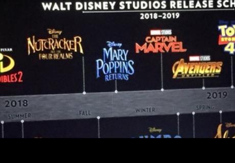 Disney revela calendario de películas hasta el 2019