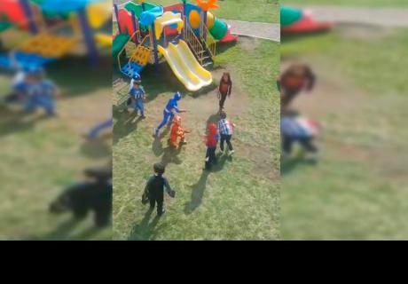 Niños crean su propia versión de 'Avengers Infinity War' y sorprenden a cibernautas