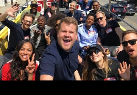 'Avengers: Infinity War': actores protagonizan divertida escena en las calles de Hollywood