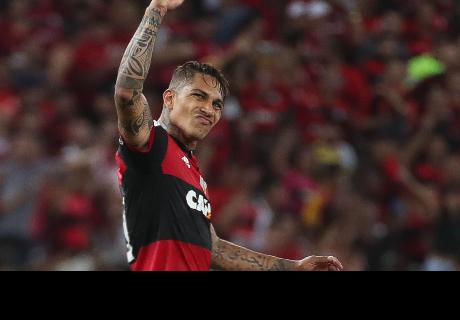 Paolo Guerrero y la vibrante ovación que recibió por hinchas de Flamengo a su retorno
