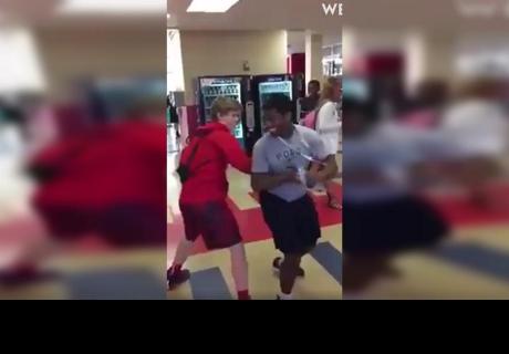 Dos amigos jugaban en la escuela y un descuido originó un terrible final