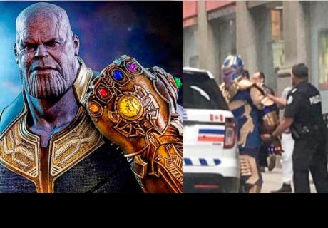 'Thanos' se salió de control y la policía de Toronto lo detuvo