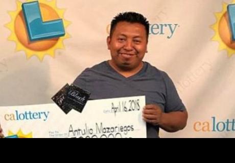 Hombre gana la lotería cuatro veces en seis meses