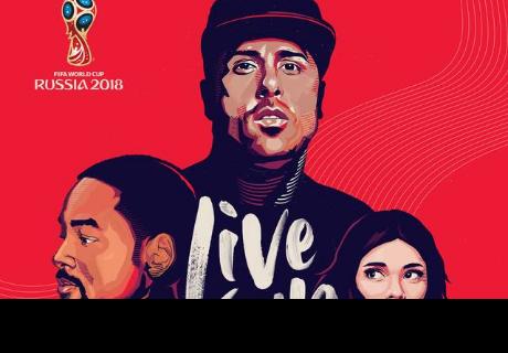 Nicky Jam, Will Smith y Era Istrefi estrenan la canción oficial del Mundial Rusia 2018