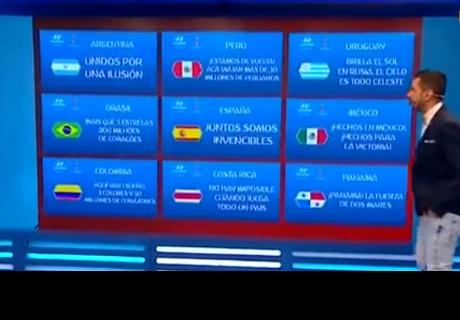 Eslogan de Perú para el Mundial Rusia 2018 se lleva los aplausos de la prensa internacional