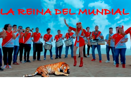 La Tigresa del Oriente y su nueva canción para la selección peruana