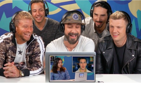 Así reaccionaron los Backstreet Boys a los comentarios de adolescentes que vieron sus viejos videos