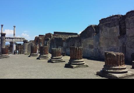 Amenazan de muerte a un turista por hacer esta foto 'prohibida' en Pompeya