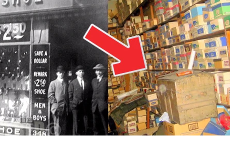 Tienda estuvo cerrada por más de 50 años y lo que había dentro te sorprenderá