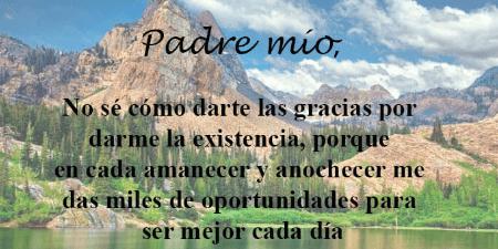 Oración del día martes y pedir que nuestro Dios siempre nos acompañe