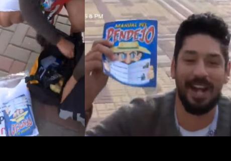 Peruano llegó a Rusia con 90 euros y para sobrevivir venderá insólito libro