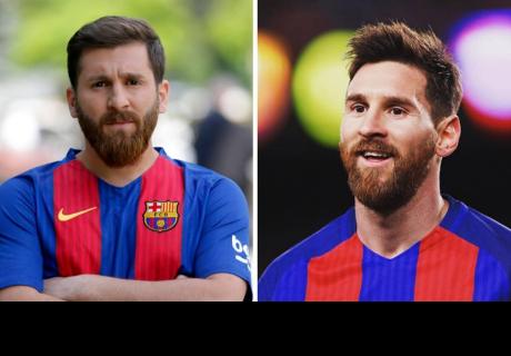 El 'clon' iraní de Messi confunde a los hinchas en las calles de Moscú