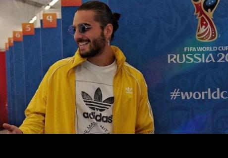 Maluma sufre millonario robo en Moscú mientras alentaba a Colombia