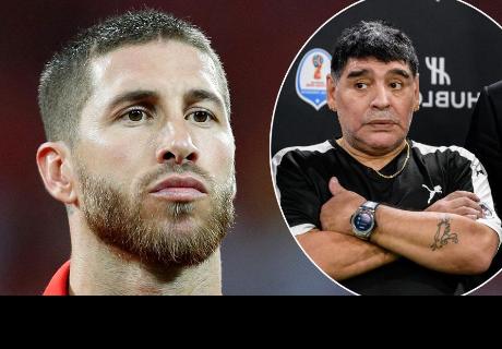 Sergio Ramos y la respuesta a Diego Maradona que no le gustará nada