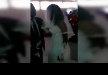 Mujer llega a boda de su amante vestida de novia y el final sorprendió a todos
