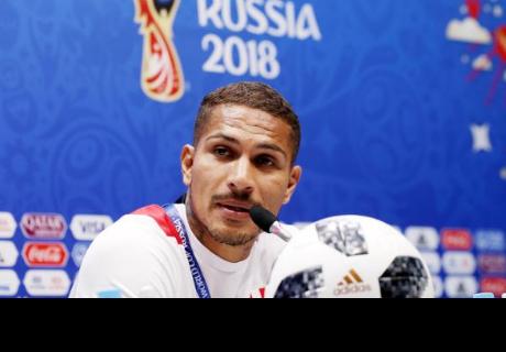 Paolo Guerrero agradeció el apoyo de los hinchas peruanos durante el Mundial Rusia 2018