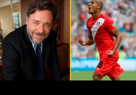 Russell Crowe envió mensaje de felicitación a la selección peruana